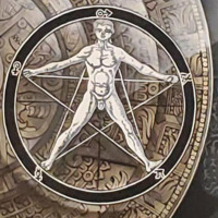 Man in Pentagram