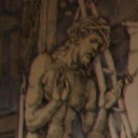 Kneeling Apparition of Jesus