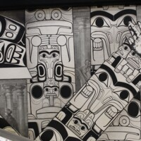 Collection of Totem Poles