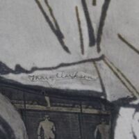 Signature of Former Librarian Mary Clarkson