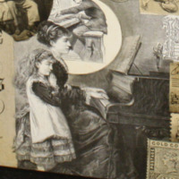 Woman and Girl at the Piano